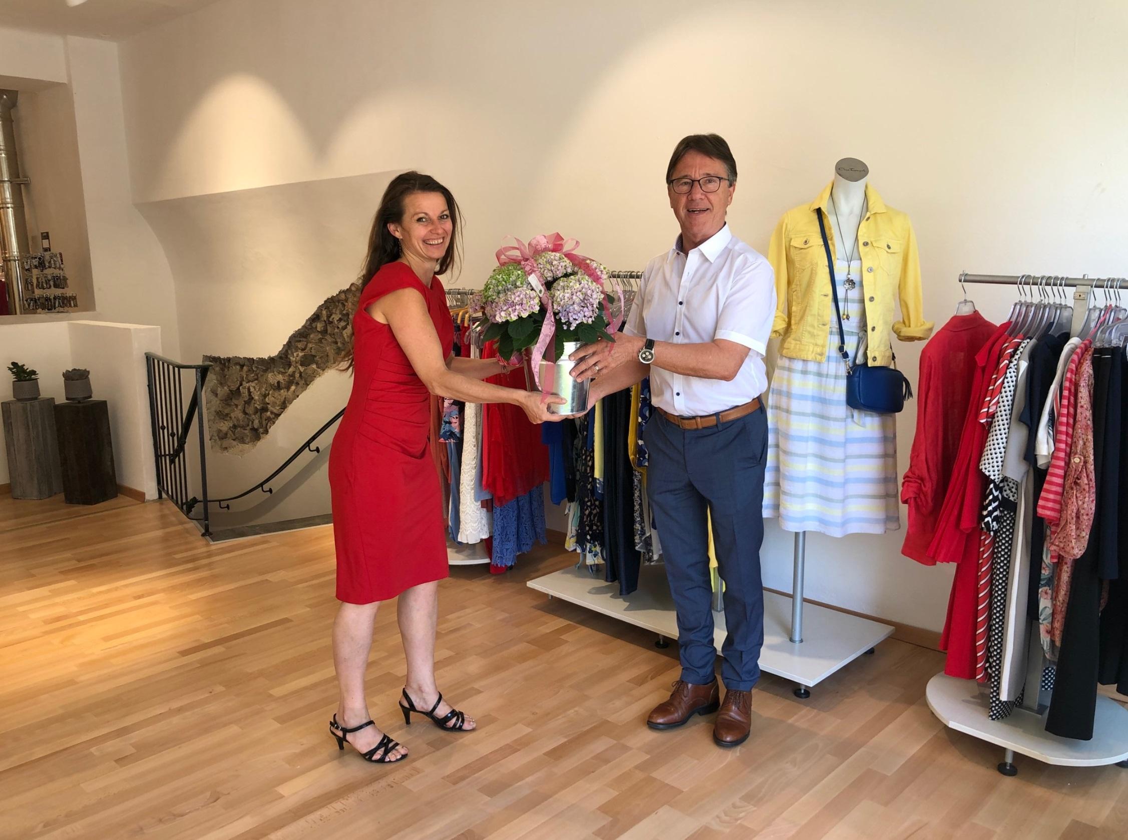 Eröffnung Boutique mit Shop in Mondsee